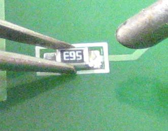 Паяльник пинцет для smd 165